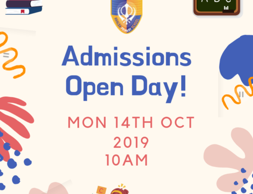 Admissions Open Day