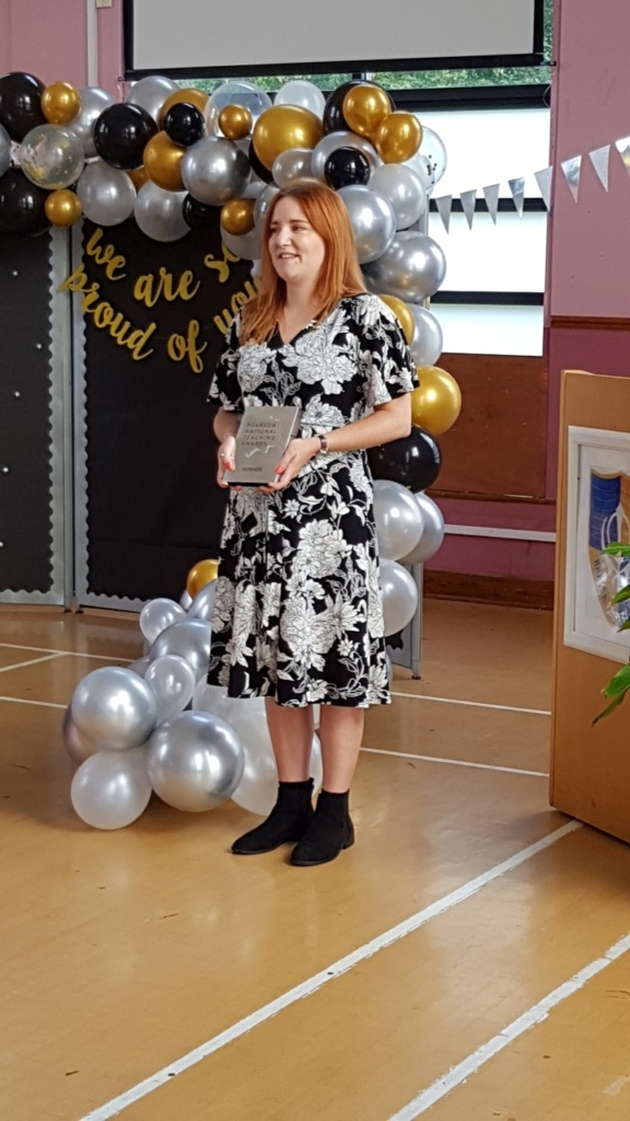 Teacher of the Year in a Primary School