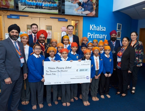 CEO of Heathrow Airport visits Khalsa Primary
