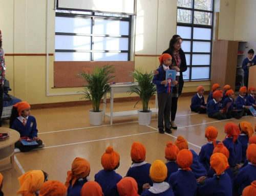 Khalsa Primary School evaluated as 'sustaining distinction' for 2017-18
